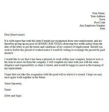 two week resignation letter samples   formal resignation letter    two week resignation letter samples   formal resignation letter example   two weeks notice