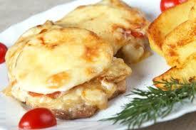 Картинки по запросу Рецепт мяса с грибами и ананасами