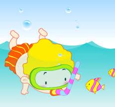 Resultat d'imatges de piscina niños dibujo