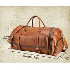 <b>AETOO</b> 2019 new vintage men's travel <b>bag genuine leather</b> crazy ...