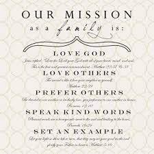 i will do a family mission statement this year love this idea i will do a family mission statement this year