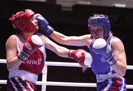 canadian athletes to watch at the commonwealth games in olga slavinskaya r of russia punches a