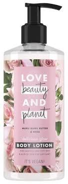 <b>Лосьон для тела Love</b> Beauty and Planet Восхитительное сияние ...