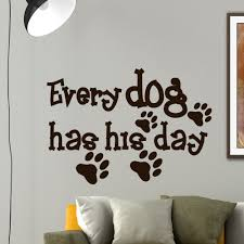 art sayings quotes pet home decor