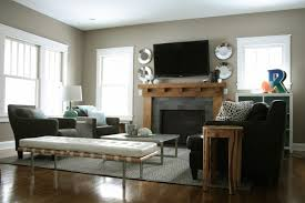 storage bench for living room:  wonderful bench living room seating white leather modern bench light brown surround fireplace mantel black leather