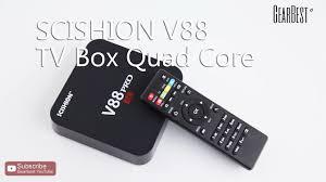 SCISHION <b>V88 PRO TV Box</b> - Gearbest.com - YouTube