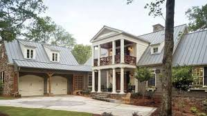 Greek Revival House Plans   Southern Living House PlansSl