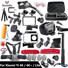 <b>SnowHu For Xiaomi Yi</b> 4K Accessories Monopod Stick Octopus ...