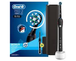 Щетка <b>зубная электрическая</b> Braun Oral-B Pro 2 2500 Cross ...