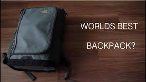 World's Best <b>Backpack</b>? (The North Face) - YouTube