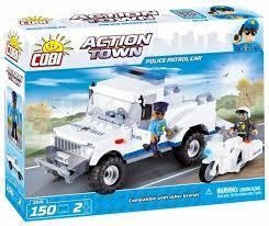 <b>Конструктор Cobi</b> Action Town 1576 <b>Полицейский</b> патруль ...