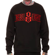 Свитшот мужской с принтом <b>Rebel8 Logo</b> Кофта - купить в ...
