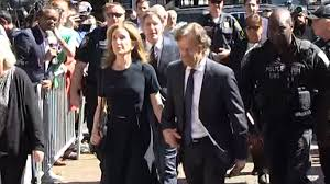 Felicity Huffman Arrives for Sentencing in College Bribery Case