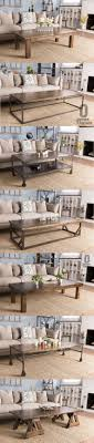rustic style living room clever: handcrafted solid wood and steel coffee tables and more from jamesjames coffee