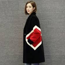 Nerazzurri kobiety prawdziwe futro płaszcz długie naturalne płaszcz ...