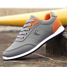 <b>Men Casual Breathable</b> Lace Up Comfortable Outdoor Shoes | Sport ...