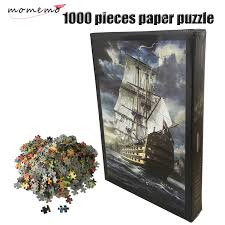 <b>MOMEMO</b> The Sailboat Paper Puzzle 1000 Pieces Adults Paper ...