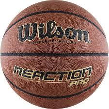 <b>Мяч баскетбольный Wilson Reaction</b> PRO, WTB10137XB07 ...