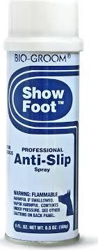 """<b>Спрей</b> от скольжения <b>Bio</b>-<b>Groom</b> """"<b>Show Foot</b>"""", 184 г"""