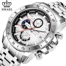 <b>SMAEL</b> Fashion Mens Watches <b>Top Luxury Brand</b> Business ...