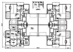 plex     good floor plan       Apartment House Plan Ideas    This ranch design floor plan is sq ft and has bedrooms and has bathrooms