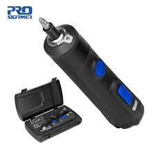 4V Мини электрическая <b>отвертка набор</b> USB перезаряжаемая ...
