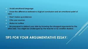best tips to write argumentative essay   tips for your argumentative essay