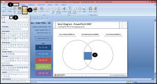 nuts  amp  bolts speed training for powerpoint   how to make the    creating the middle piece of a venn diagram in powerpoint