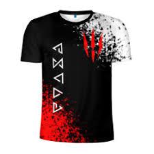 Мужские <b>футболки The Witcher</b> c принтом   Мужские футболки ...