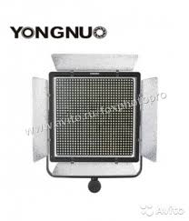 <b>Накамерный свет yongnuo YN</b>-10800 (3200K-5500K) LED ...
