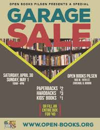 garage at open books pilsen open books oboo garage 2016 flyerv2