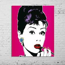 Free Shipping <b>High Quality</b> wall art <b>100</b>% <b>Handpainted</b> Audrey ...