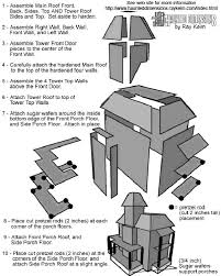 ideas about Gingerb House Template on Pinterest    Construction of   PDF Victorian house model