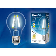 Светодиодная <b>лампочка Uniel</b> LED-A60-8W <b>AIR</b> UL-00002212 в ...