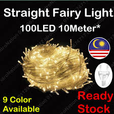 100LED <b>10M LED String</b> Fairy Light Lamp Christmas Party Wedding ...