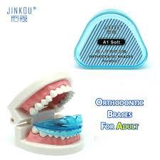 <b>Adult</b> Blue Orthodontic <b>Braces</b> Dental <b>Orthotics</b> Tooth Retainer ...