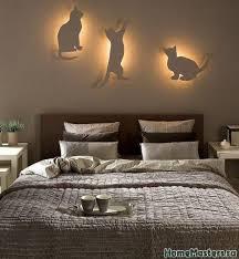 Бра для <b>любителей кошек</b> | Дизайн интерьера спальни ...