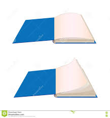 first page book cover stock illustration image  an open book on the first page royalty stock photos