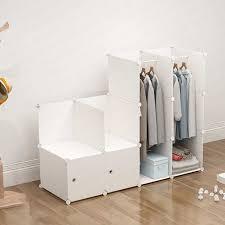 Through The Wardrobe Baby Storage Cabinet Imitation Cloth <b>Plastic</b> ...