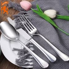 China 304 <b>Stainless Steel Custom</b>-Made Tableware Fork/Spoon ...