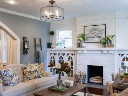 lighting living room complete guide: clean and classic the key to the remodel according to joanna was in staying
