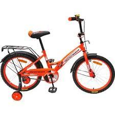 <b>Велосипед AVENGER</b> 16 <b>NEW</b> STAR, оранжевый/черный | xn ...