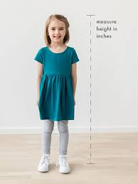 <b>Kids</b> Sizing Guide | Hanna Andersson