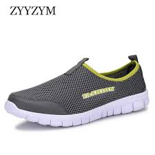 <b>ZYYZYM Men</b> Summer Shoes Casual Air <b>Mesh</b> Shoes Large Sizes ...