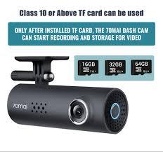 <b>70mai</b> Smart <b>Dash Cam 1S</b> English Voice Control <b>70 Mai</b> Car ...