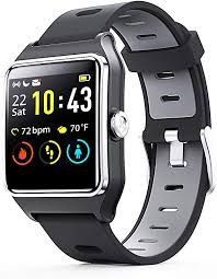 ENACFIRE Smart Watch, W2 GPS Fitness Tracker ... - Amazon.com
