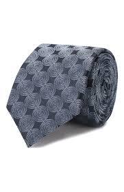 Мужской голубой <b>шелковый галстук HUGO</b> — купить за 4500 руб ...