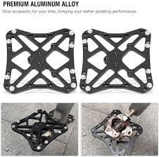 <b>Aluminum</b> Alloy <b>Bike</b> Clipless Clip-in Platform <b>Pedal</b> Adapters for ...