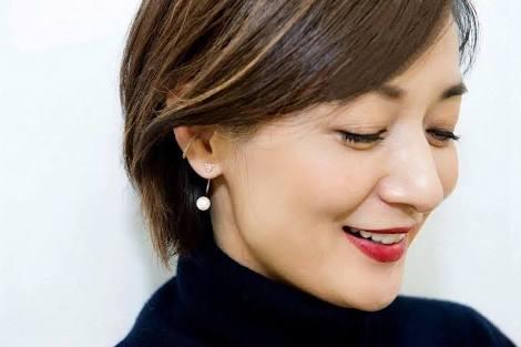 赤リップの富岡佳子