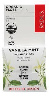 <b>Зубная нить Organic Floss</b> Vanilla Mint 50м (ванильная мята ...